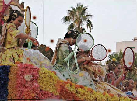 Valencia la Bataille de fleurs