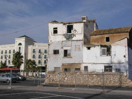 du côté du Cabanyal Valence Espagne