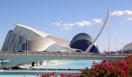 Cité des Arts et des Sciences de Valencia