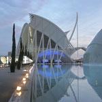 La Cité des Arts et des Sciences de Santiago Calatrava