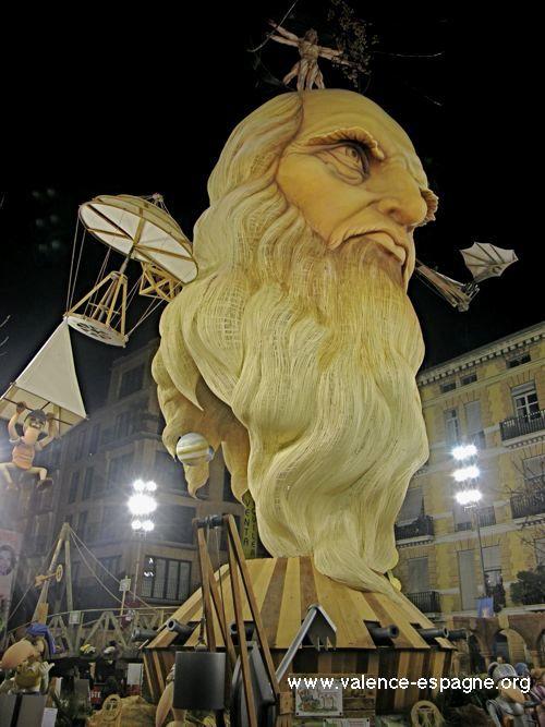 Fallas 2012 Falla Na Jordana Leonardo da Vinci