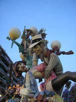 La fête des Fallas à Valence