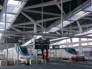 Valencia  Estación AVE Joaquín Sorolla