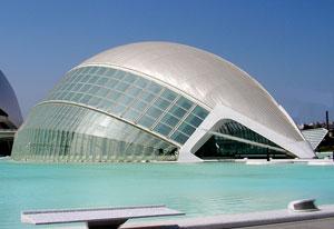 Hemisferic de Valencia, Valence en Espagne