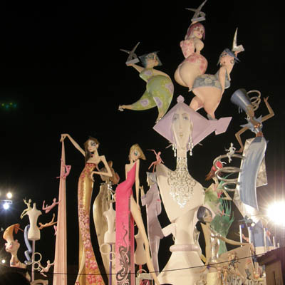 1er Prix des Fallas 2009 Falla de Nou-Campanar