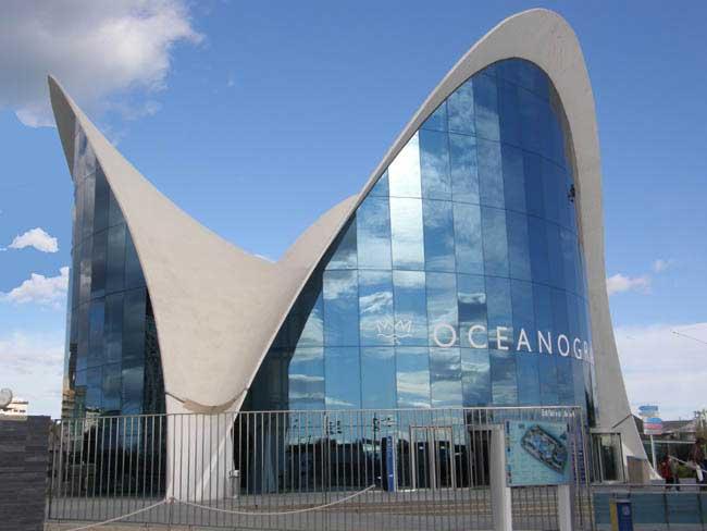 Valencia en espa a for Aquarium valencia bar