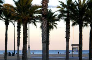 La plage de Valence