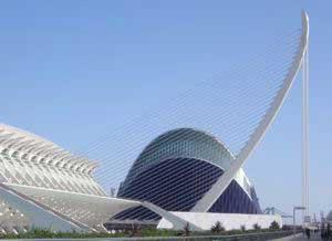 Le Pont de l'Assut d'Or à Valence de Santiago Calatrava